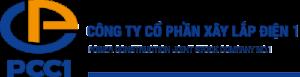 Logo công ty xây lắp điện 1 - pcc1