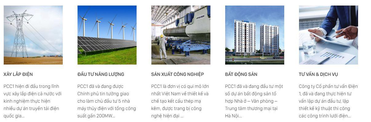 Lĩnh vực hoạt động công ty xây lắp điện 1