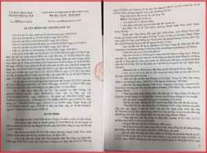 Quyết định chủ trường đầu tư dự án chung cư PCC1 Thanh Xuân