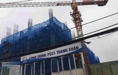 Tiến độ chung cư PCC1 Thanh Xuân tháng 5/2019