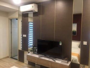 Không gian phòng ngủ căn hộ mẫu PCC1 Thanh Xuân