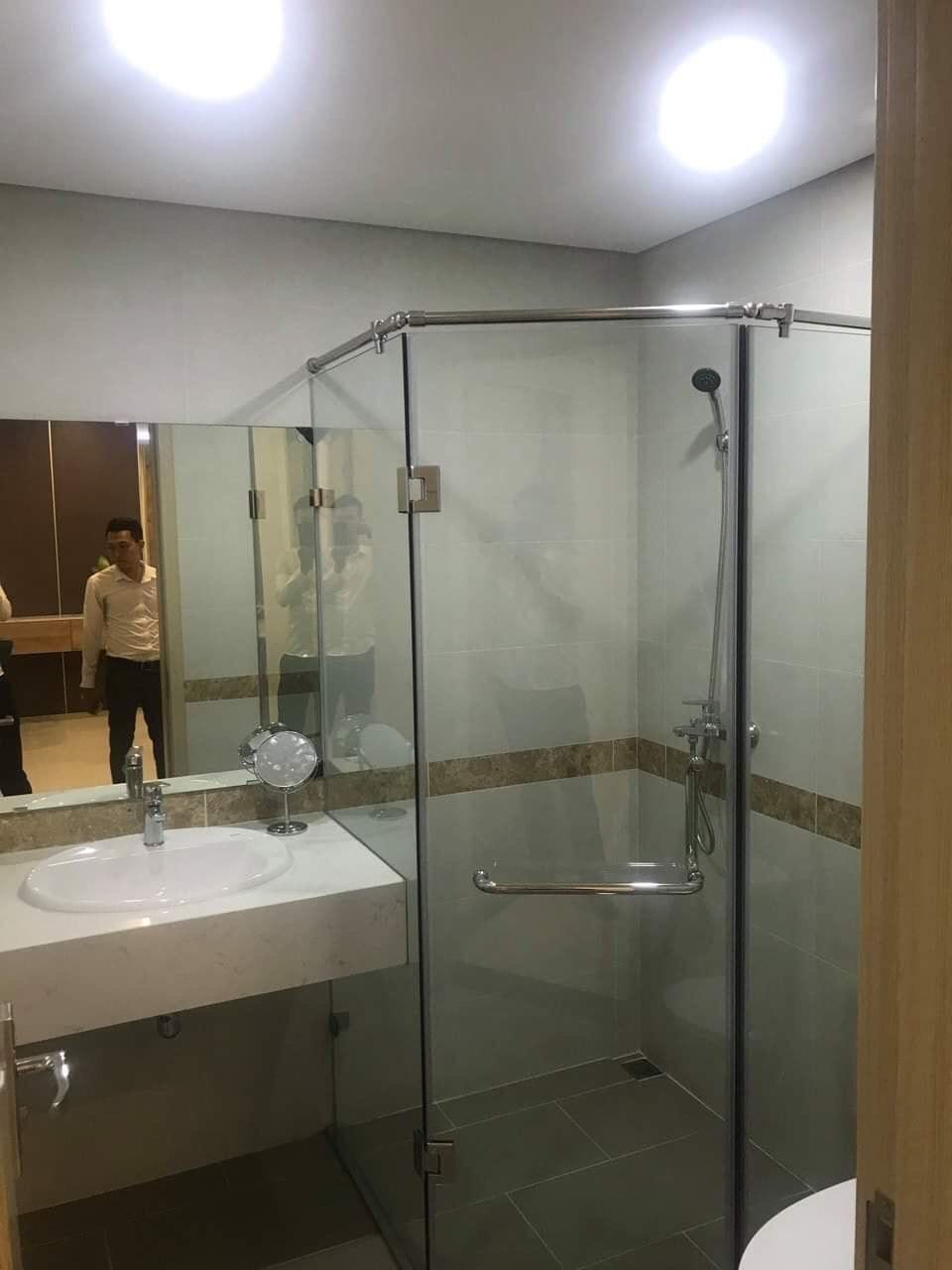 Phòng vệ sinh nhà mẫu chung cư PCC1 Thanh Xuân