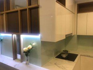 Không gian phòng bếp căn hộ mẫu PCC1 Thanh Xuân